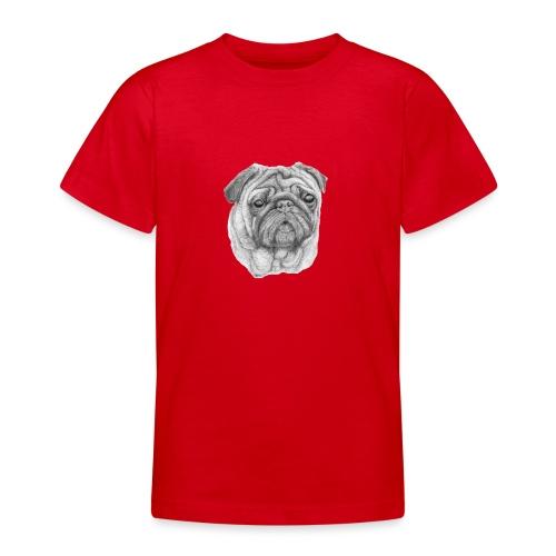 Pug - mops 1 - Teenager-T-shirt