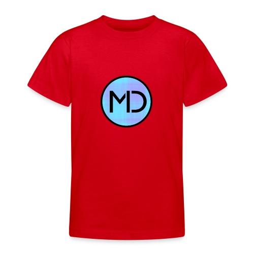 MD Blue Fibre Trans - Teenage T-Shirt