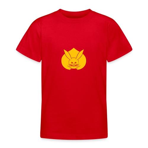 Usagi kamon japanese rabbit yellow - Teenage T-Shirt