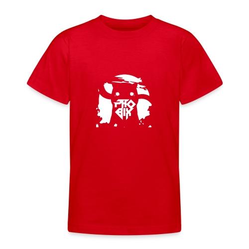 white 01big png - Teenager T-Shirt