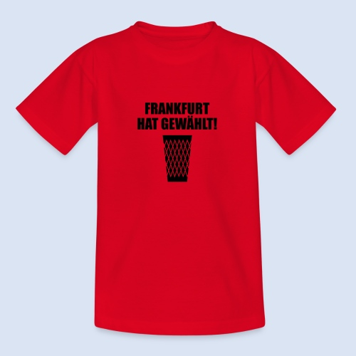Frankfurt Wahl - Teenager T-Shirt