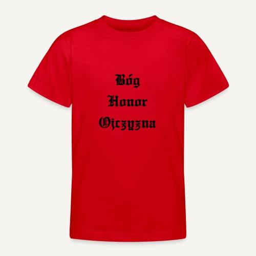 Bóg Honor Ojczyzna - Koszulka młodzieżowa