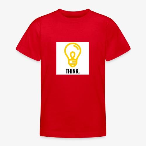 THINK - Maglietta per ragazzi