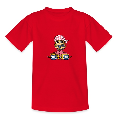 hip-hop girl and bandana - Teenager T-Shirt