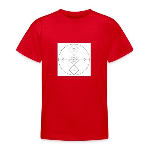 I release family karma now. - T-skjorte for tenåringer
