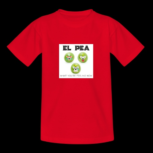 EL Pea - What You re Feeling Now - Teenage T-Shirt