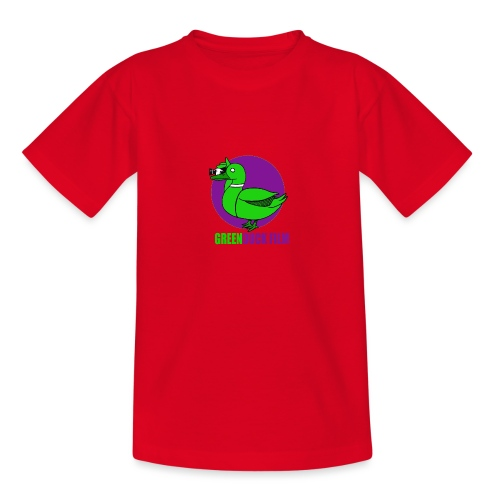 Greenduck Film Purple Sun Logo - Teenager-T-shirt