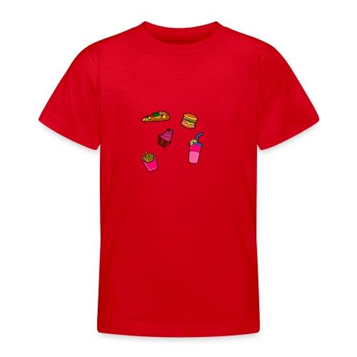 Fast Food Design - Teenager T-Shirt