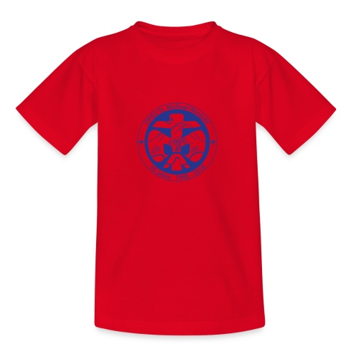 Logo Jubi Rund Blau - Teenager T-Shirt