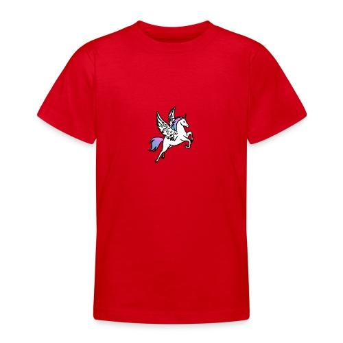 Fliegendes Einhorn - Teenager T-Shirt