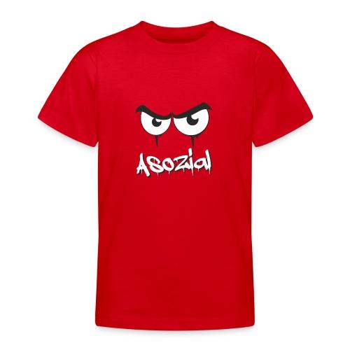 Asozial - Teenager T-Shirt