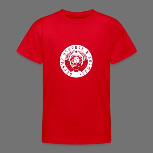 Cosmonaut 1c white - Teenage T-Shirt