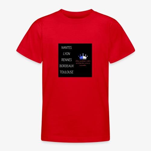 Meilleures villes de France - T-shirt Ado