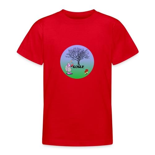 Schaf Kohle - Teenager T-Shirt
