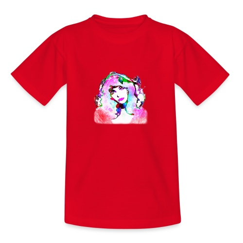Painted Kate - Teenager T-Shirt
