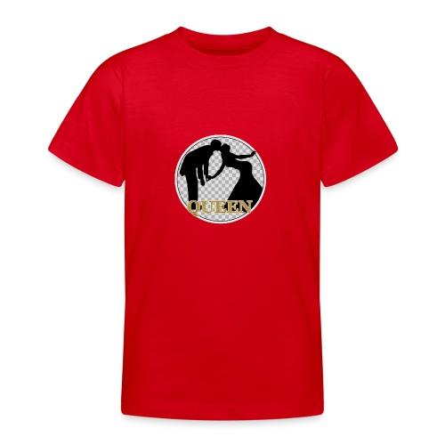 Queen mit Paar - Teenager T-Shirt