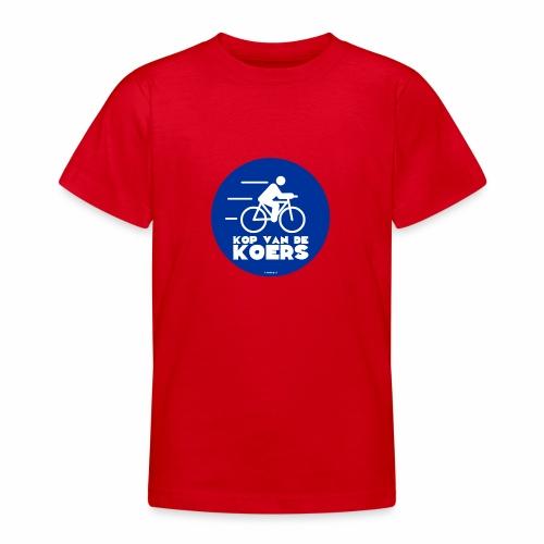 Kop van de koers - Teenager T-shirt