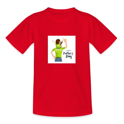 Pngtree precious happy moment with superdad 35709 - T-shirt Ado