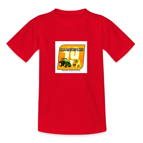 hjarne 123 danmarks bedeste youtuber - Teenager-T-shirt