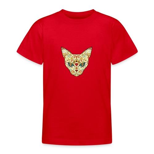Skull Cat - Maglietta per ragazzi