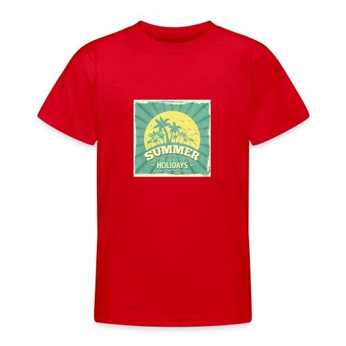 conception lettres ete - T-shirt Ado