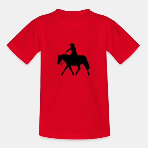 Ranch Riding extendet Trot - Teenager T-Shirt