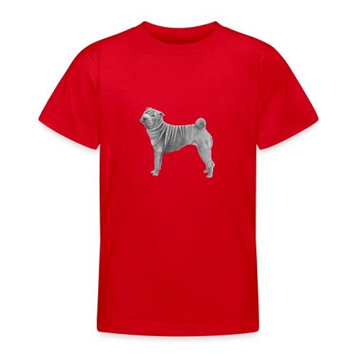 shar pei - Teenager-T-shirt