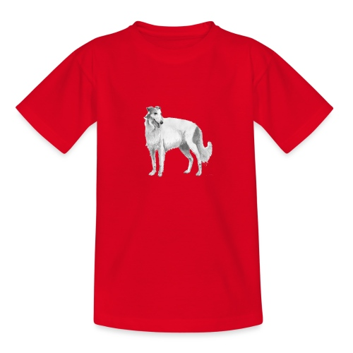 Borzoi - Teenager-T-shirt