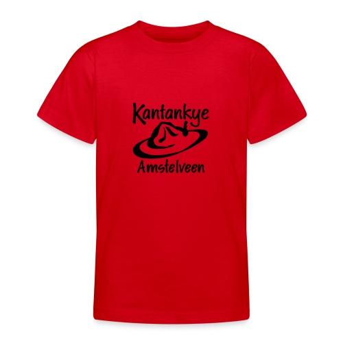 logo naam hoed amstelveen - Teenager T-shirt