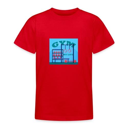 GYM - Nuorten t-paita
