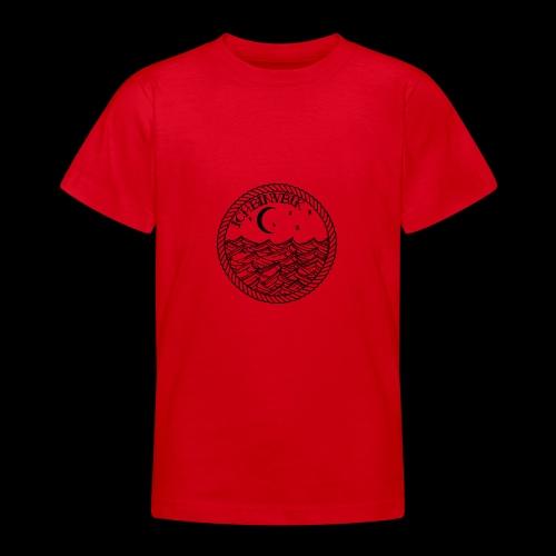 IBV Die Lichter das Meer black - Teenager T-Shirt