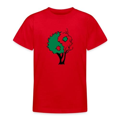 Yin Yang Arbre - T-shirt Ado