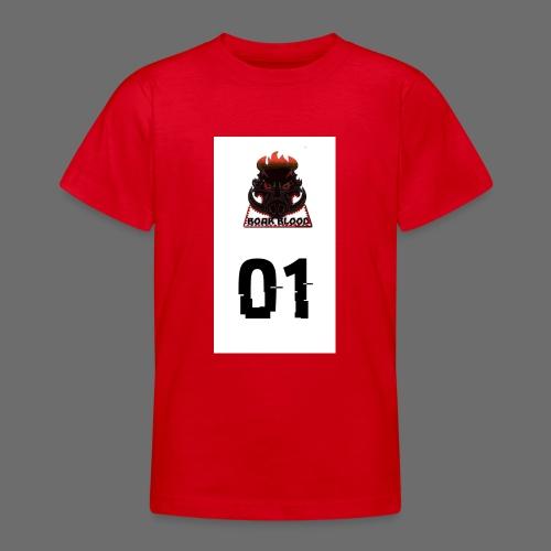 Boar blood 01 - Koszulka młodzieżowa