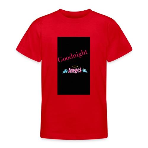 goodnight Angel Snapchat - Teenage T-Shirt