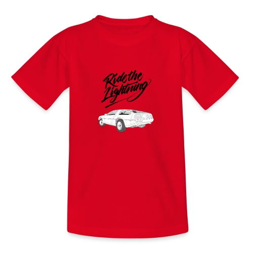 Delorean – Ride The Lightning - Teenager T-Shirt