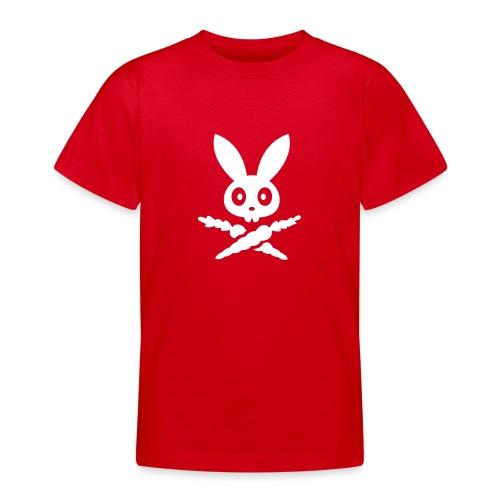 SKULLY Hase bunny Schädel kaninchen häschen - Teenager T-Shirt
