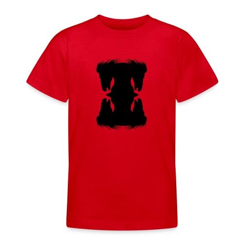 Cheval cabré en ombres chinoise - T-shirt Ado
