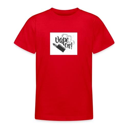 Mrvaper2016 vape on phone case - Teenage T-Shirt