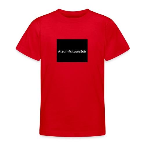 #teamfrituurstok - Teenager T-shirt