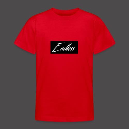 Endless Black - Teenager T-Shirt