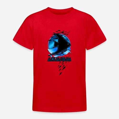 Fish aquarium keeper - Teenager T-shirt