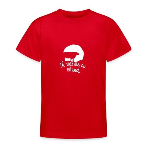 Ik voel me zo eiland - Teenager T-shirt