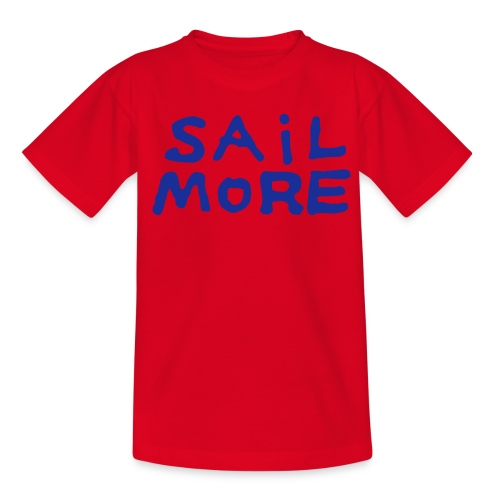 Sailmoreshirt Vorn - Teenager T-Shirt