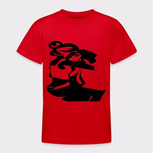 In Deinen Armen Liebespaar - Teenager T-Shirt