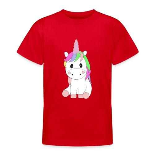 Magic Baby Unicorn - Teenager T-Shirt