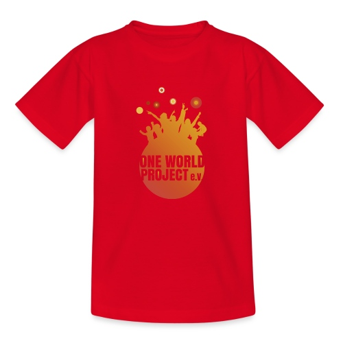 One World Project e. V. - Logo - Teenager T-Shirt