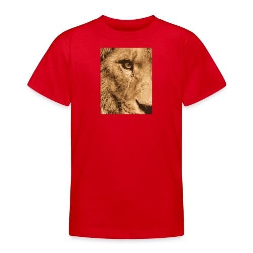 Lion eye - Teenager T-Shirt