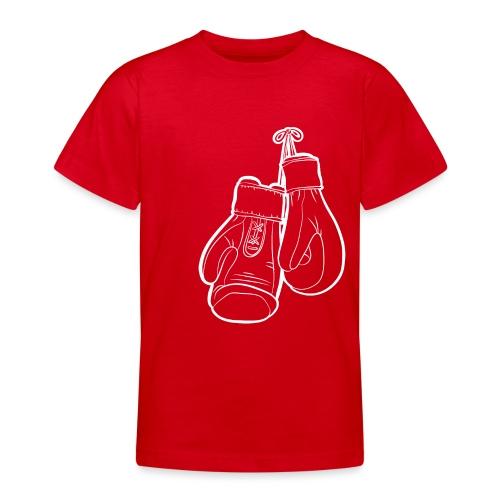 Handschuhe weiß - Teenager T-Shirt