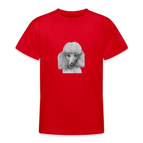 storpudel - standardpoodle abricot - Teenager-T-shirt