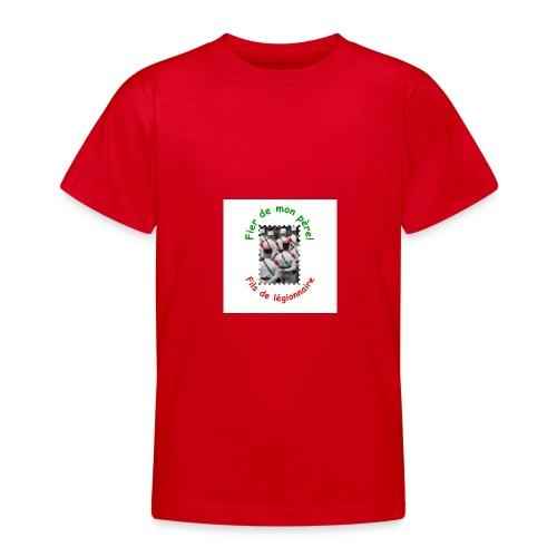 T-shirt bio fier de mon père (garçon) - T-shirt Ado